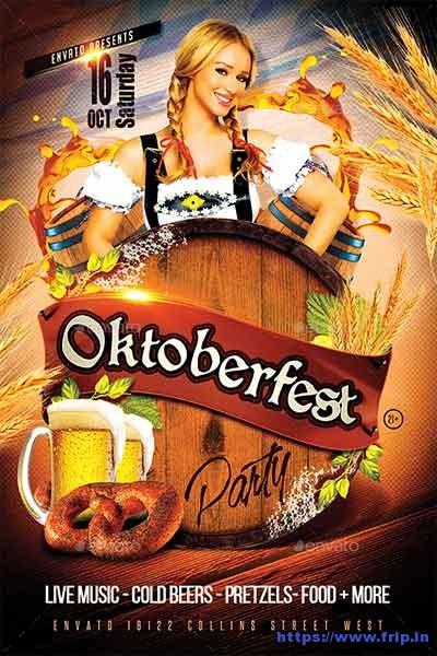 Oktoberfest-Party-Flyer-Template