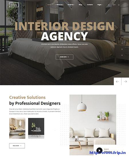 Ollis-Interior-Design-WordPress-Theme