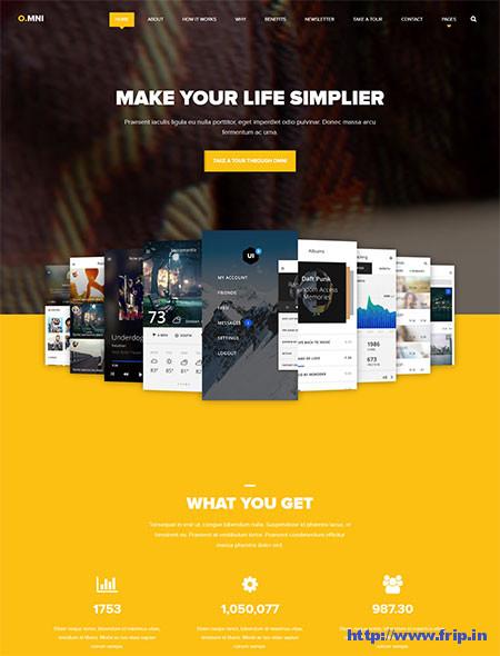 Omni-One-Page-App-WordPress-Theme