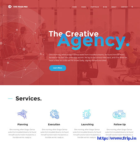 One-Page-Pro-Multipurpose-WordPress-Theme