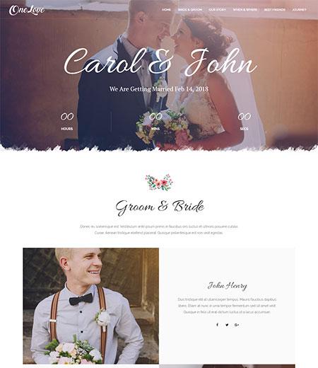 OneLove-Wedding-WordPress-Theme