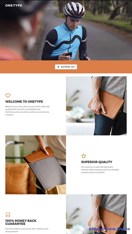 OneType-eCommerce-WordPress-Theme