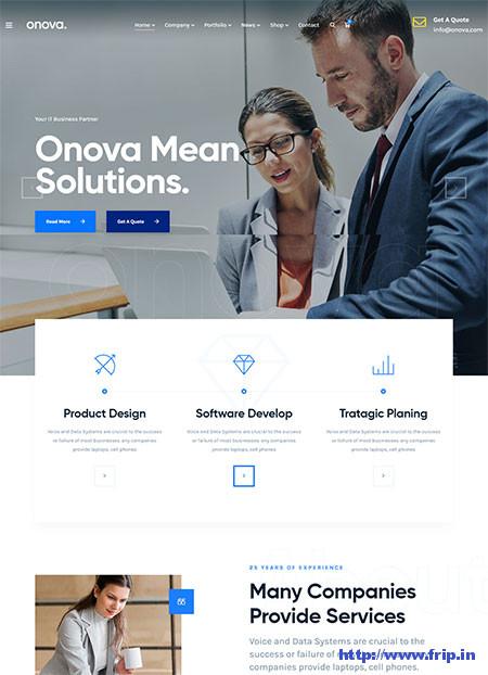 IT Solutions WordPress Themes