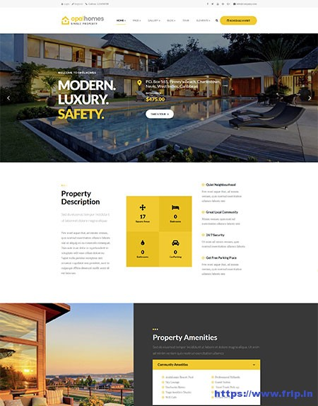 Opalhomes-Single-Property-WordPress-Theme
