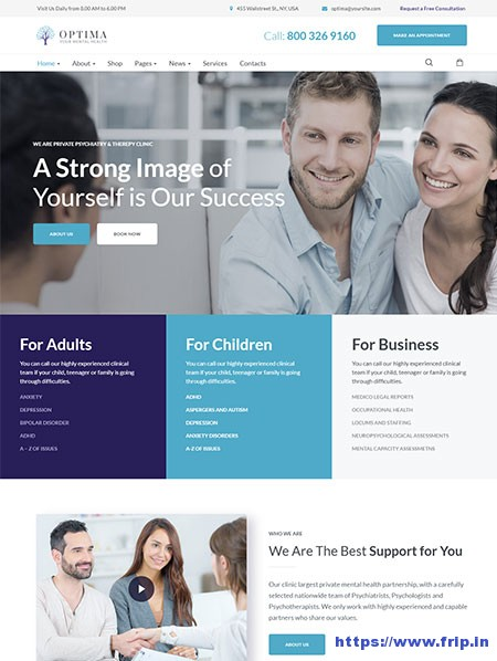 Optima-Psychologist-WordPress-Theme