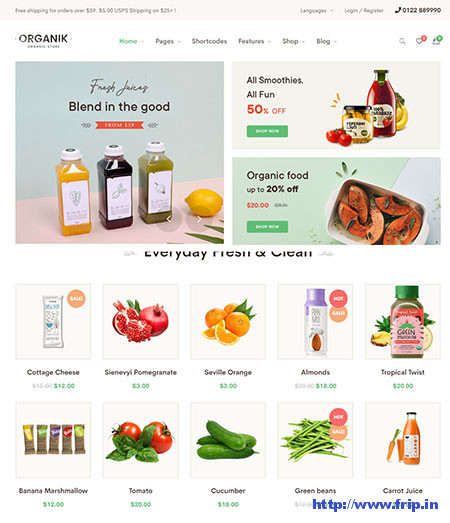 Organik-Organic-Food-Store-Theme