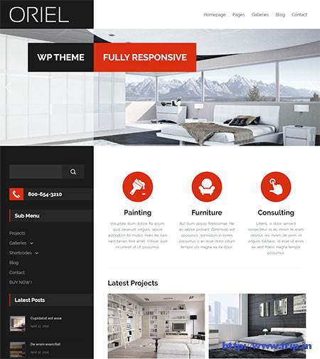 Oriel-Interior-Design-WordPress-Theme