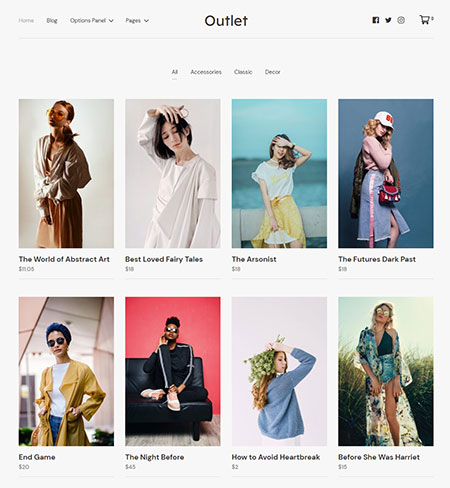 Outlet-eCommerce-WordPress-Theme