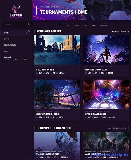 Overworld-Gaming-WordPress-Theme