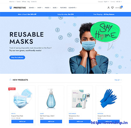 PeakShops-medical-WooCommerce-Theme