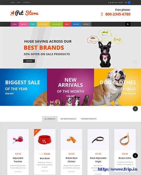 Pet-Store-WooCommerce-Theme