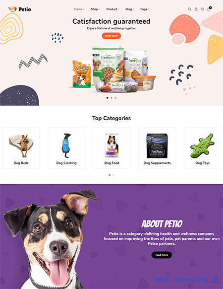 Petio-Pet-Store-WooCommerce-Theme