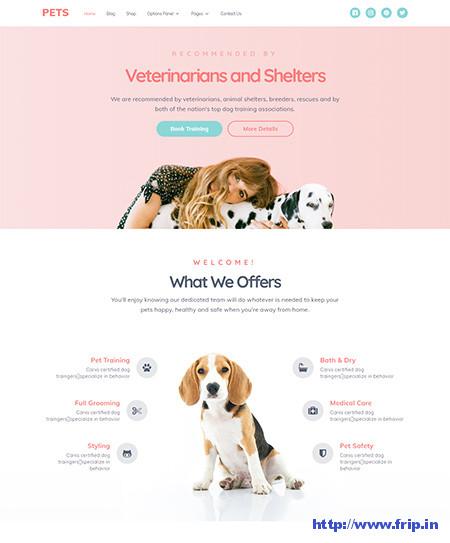 Pets-WordPress-Theme