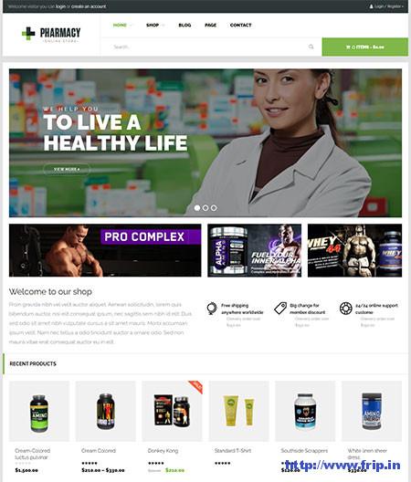 Pharmacy-WooCommerce-Theme