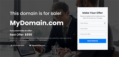 PickDomain-Domain-For-Sale-HTML-Template