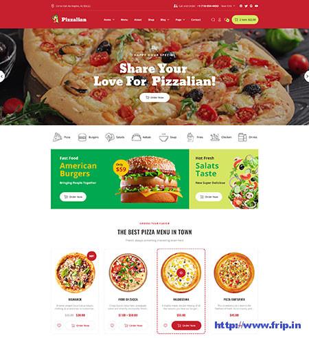 Piizalian-Fast-Food-Theme