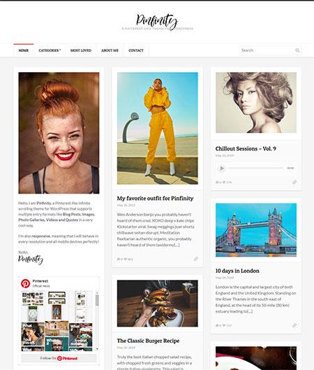 Pinfinity-Pinterest-WordPress-Theme