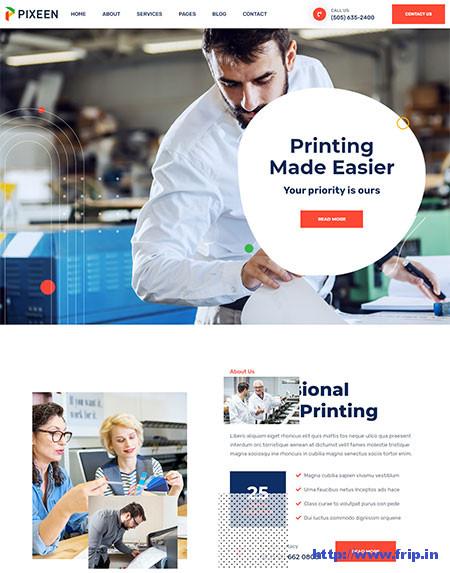 Print Shop WordPress Themes
