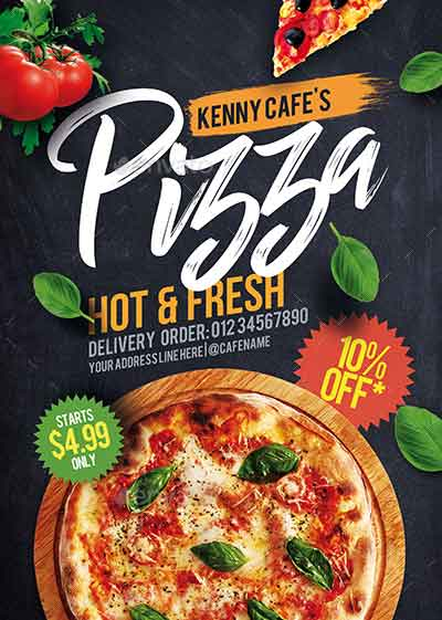 Pizza-Flyer