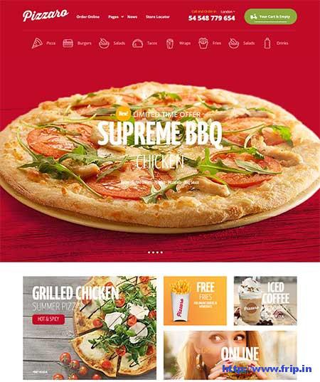 Pizzaro-Fast-Food-Theme