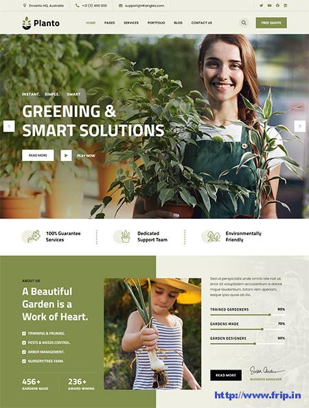 Planto-Landscaping-&-Gardening-Theme