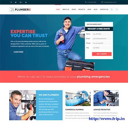 Plumber-Repairing-WordPress-Theme
