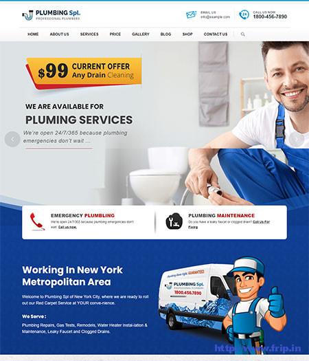 Plumber-WordPress-Theme