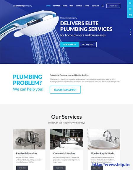 Plumbing-WordPress-Theme