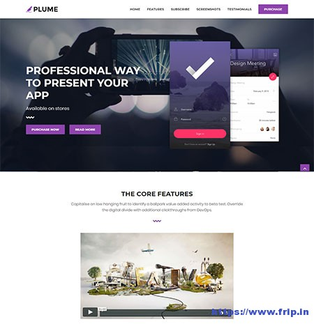 Plume-HTML5-Multi-Purpose-Template