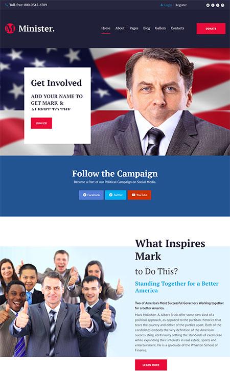 Political-Candidate-Responsive-Joomla-Template