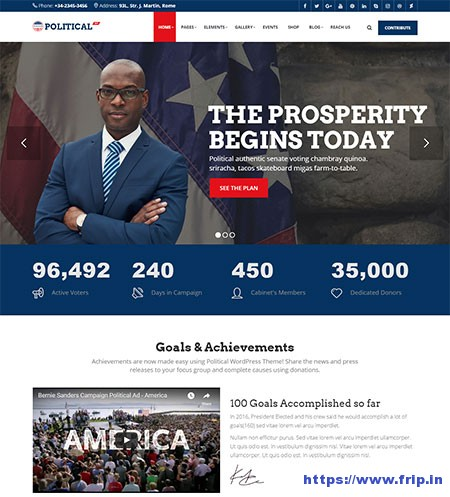 PolticalWP-Political-WordPress-Theme