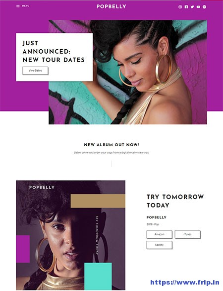 Popbelly-Music-WordPress-Theme