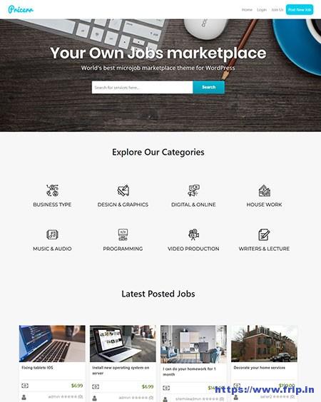 Pricerr-WordPress-Theme