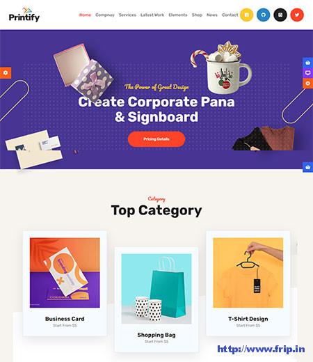 Printify-Printing-Company-Theme