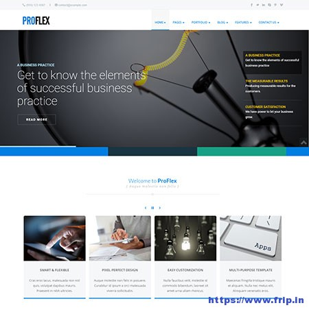ProFlex-Multipurpose-Website-Template