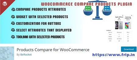 WooCommerce Product Compare Plugin
