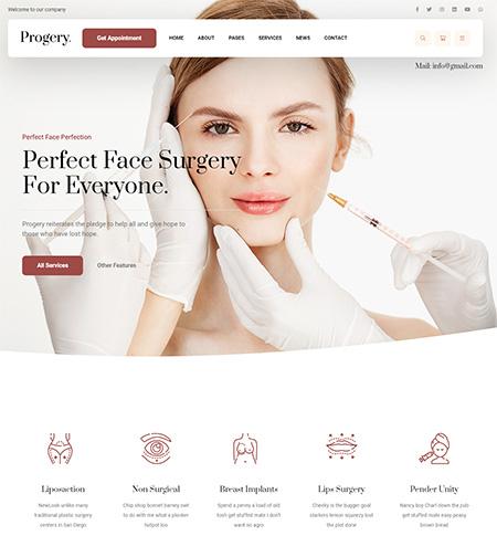 Progery-Plastic-Surgery-Theme