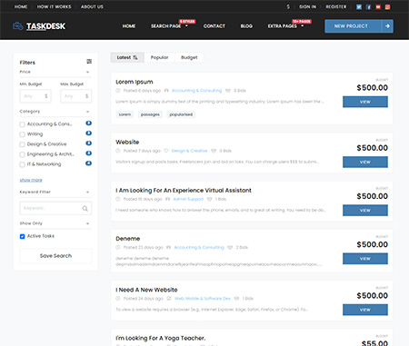 Project-Freelancer-Marketplace-Theme