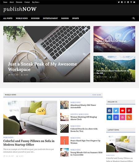 PublishNow-WordPress-Magazine-Theme