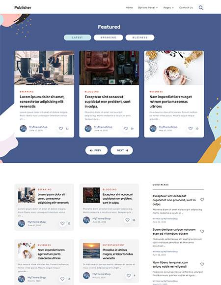Publisher-Blogging-WordPress-Theme