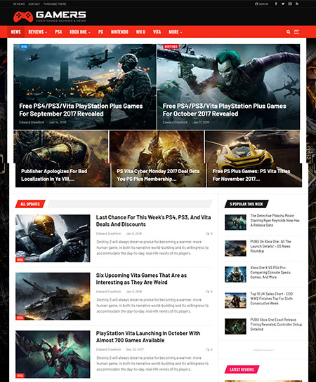 Publisher-WordPress-Gaming-Themes