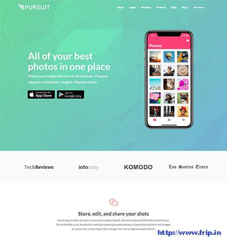 Pursuit-WordPress-App-Theme