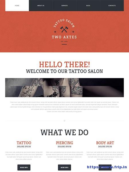 tattoo wordpress themes