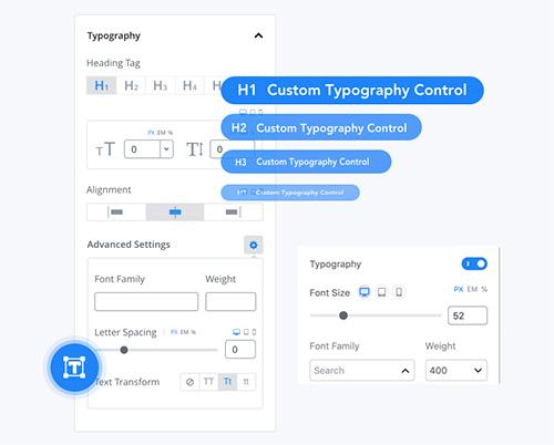 Qubely-Custom-Typo
