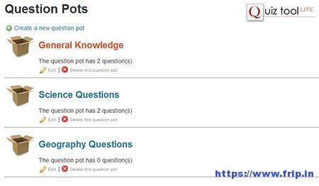 WordPress Quiz Plugin