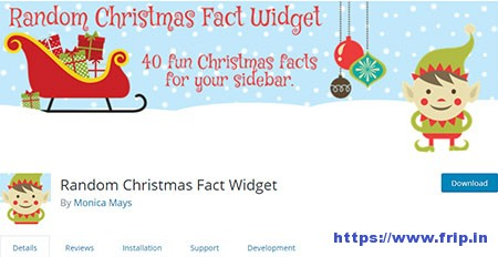 Random-Christmas-Fact-Widget