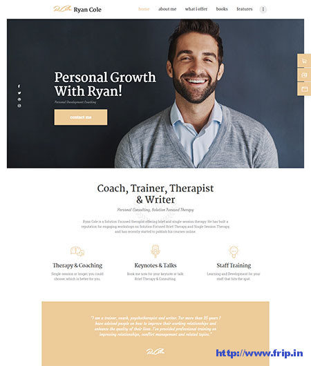 Rcole-coaching-wordpress-theme