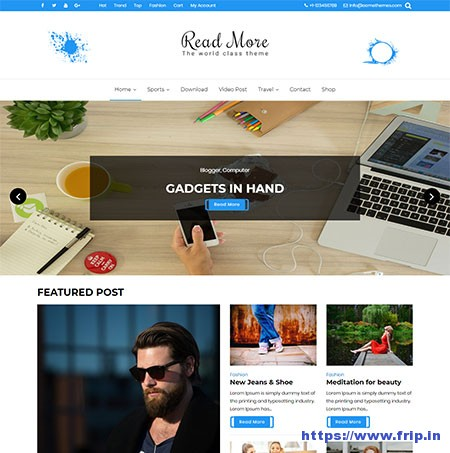 Read-More-free-WordPress-Theme