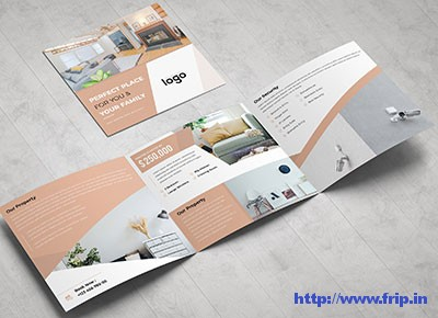 Real-Estate-Square-Trifold-Brochures