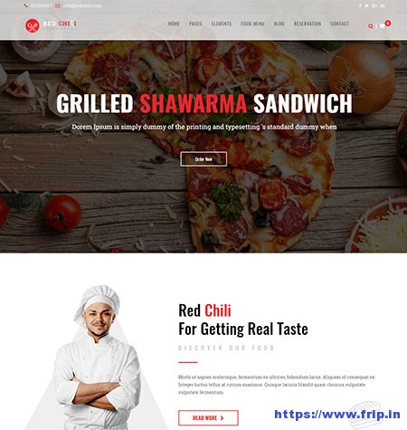 Redchilli-Restaurant-WordPress-Theme